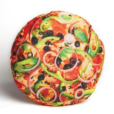 My design inspiration: YummyPillow Pizza on Fab.