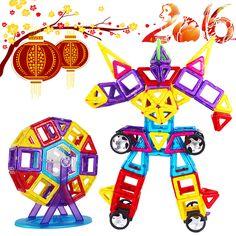 Mini Technic Models & Building Toy Magnetic Building Blocks Learning & Educational Toys For Children Magnet Bricks Kids Toys #Affiliate