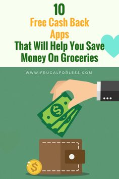 Read on for 10 free grocery cash back apps to save you money. Frugal Living | Save Money on Groceries | Money Making Apps | Cash Back Apps | Make Money Online | Side Hustle | Make Money Fast | Make Money From Home.