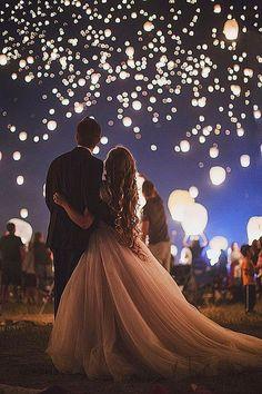 Incredible Night Wedding Photos That Are Must See ❤ See more: http://www.weddingforward.com/night-wedding-photos/ #weddings