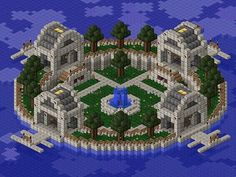 The Oasis Center Minecraft Map