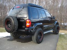 Some of the mods Rough Country Lift with Nitro 9000 shock absorbers. Westin Brush guard with KC Fog Lamps. K&N air filter. Jeep Liberty Sport, Cherokee Sport, 2012 Jeep, Another A, Cargo Van, Jeep 4x4, Luxury Suv, Jeep Stuff, Air Filter
