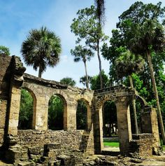 new smyrna once part of the cruger depeyster plantation the sugar mill ruins