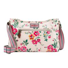Thorp Flowers Mini Zipped Cross Body | Cath Kidston |