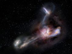NASA spots a distant galaxy that is actually sucking up other galaxies Cosmos, Galaxy Images, Hubble Images, Other Galaxies, Spiral Galaxy, Whirlpool Galaxy, Star Formation, Space Photos, Space Images