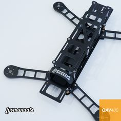QAV400 FPV Quadcopter Frame with Aluminum Arms Plastic Models, Quad, Digital Camera, Arms, Cameras, Drones, Amazon, Kit, Color Black