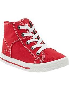 $17 Lace-Up High-Top Sneakers for Baby   Old Navy