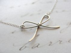 Bow Necklace - Rose Gold - Trend Uncovet