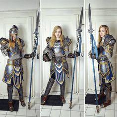 Girlfriend's badass Stormwind guard cosplay! (Minana Cosplay) - Imgur