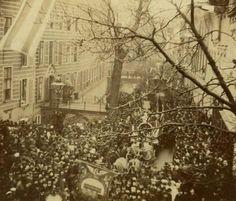 19 februari 1887 ♦ Paarden Emma en Wilhelmina slaan op hol.
