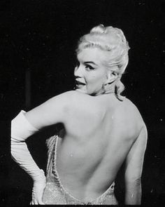Marilyn in a publicity still for Let's Make Love, 1960.
