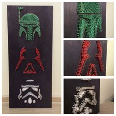 String art изонить Star Wars