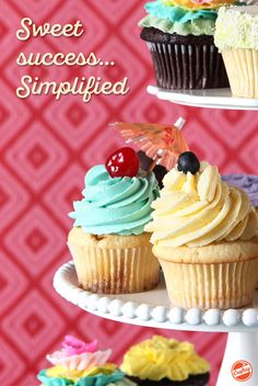 Make scrumptious cupcakes flavored like s'mores, blueberry pie, meringue, lavender crème brûlée & much more. Get lifetime access to this online video class from Jennifer Shea of Trophy Cupcakes.