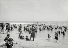 Shorpy Historic Picture Archive :: The Good Old Summertime: 1910 high-resolution photo