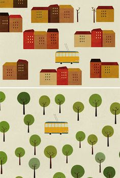 Cases & tramvia