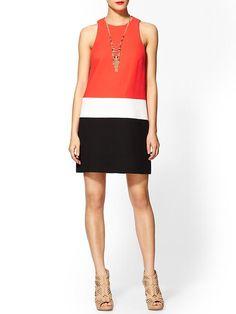 Piperlime   Sleeveless Shift Dress