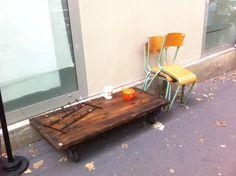 1000 ideas about table basse bois brut on pinterest for Grande table bois brut
