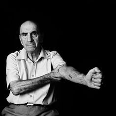 """""""To me, this is not a scar,""""  Leo Luster, 82, said. """"It is a medal. Why should I be ashamed of it?"""""""