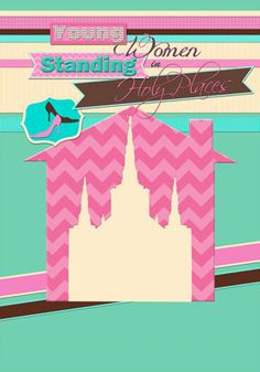 LDS Young Womens Printable available in poster size - Stand Ye in Holy Places. via Etsy.