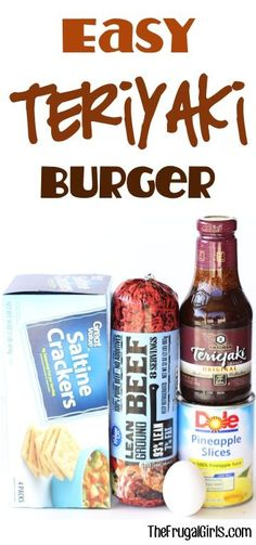 Easy Teriyaki Burger Recipe! ~ from TheFrugalGirls.com ~ this asian infused burger is the Best Ever... bursting with flavor delicious toppings and perfect for grilling season! #burgers #recipes #thefrugalgirls