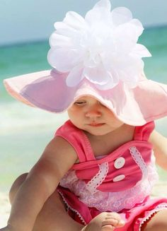 Beach Baby in Pink |  Shop. Rent. Consign. MotherhoodCloset.com Maternity Consignment