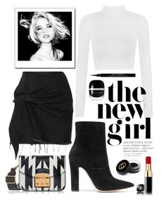 """""""•ROCK•"""" by thekeystylist on Polyvore featuring moda, Gianvito Rossi, Marques'Almeida, WearAll, Furla, Marc Jacobs, Givenchy y Gucci"""