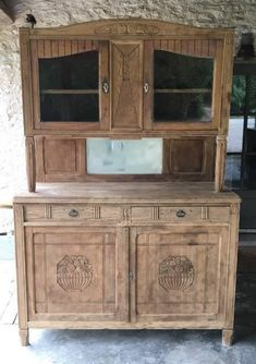 China Cabinet, Painted Furniture, Buffet, Recycling, Palette, Storage, Diy, Inspiration, Salons