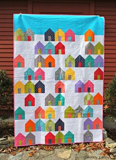 Suburbs Quilt - Gwenny Penny