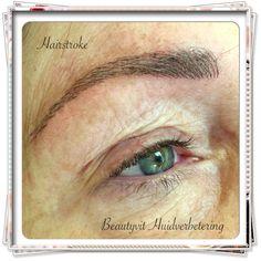 Permanente make-up Hairstroke van wenkbrauwen. Beautyvit Huidverbetering Dreef 10 4813eg Breda 0765223838 info@beautyvit.nl www.beautyvit.nl