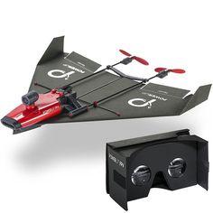 空への憧れを持ったことはありませんか。脳裏にコックピットから空を眺めるパイロット姿の自分を思い浮かべながら、紙飛行機を飛ばしませんでしたか。「PowerUp FPV」は紙飛行機に動力とカメラ、各種センサーとWi-Fiをもたらすパワーアップパーツ。ライブストリーミングが可能なカメラ&Wi-Fiまでついていますよ。