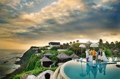 married in Bali.