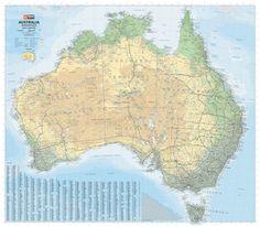Hema Australia Terrain & Road (flat)