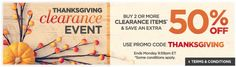 The Shopping Channel Canada Thanksgiving Clearance Event: Save an Extra 50% Off When You But 2 or More Clearance... http://www.lavahotdeals.com/ca/cheap/shopping-channel-canada-thanksgiving-clearance-event-save-extra/124926