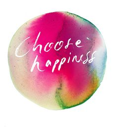 Resolution: Choose Happiness by Samantha Hahn