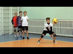 Volley-ball de la formation. Les enfants. La version complète - YouTube