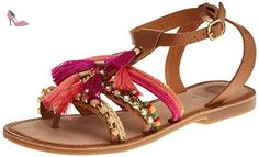 Gioseppo Nambi, Sandales à bout ouvert pour femme Multicolore 39 EU - Chaussures gioseppo (*Partner-Link)
