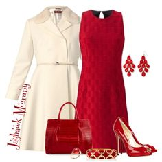 A fashion look from December 2014 featuring Ana Alcazar tops, MaxMara coats and Jimmy Choo pumps. Browse and shop related looks.