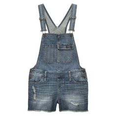 denim overall shorts #TargetStyle