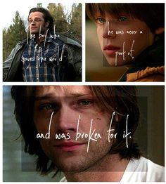 Pinned this just for the look on Jared's face in the bottom picture. He was phenomenal in that episode.