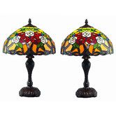 "Found it at Wayfair - Serena d'italia 17"" H Table Lamp with Bowl Shade"