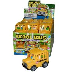 Candy Filled School Bus - 12 Count: Amazon.com: Grocery & Gourmet Food