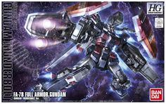 HGGT 1/144 FA-78 FULL ARMOR GUNDAM [Gundam Thunderbolt Ver.]: Just Added BOX ART, Official Images, Full Info