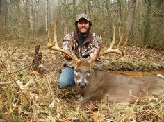 Ray McCollum of Alabama knew he'd just killed a good buck but wasn't entirely certain how big it was until he got close to it.
