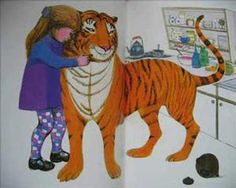 Narrated version of children's classic 'The Tiger Who Came to Tea'