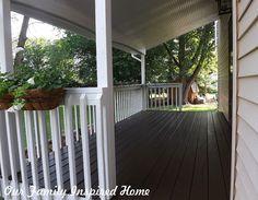 Side Porch Inside Reveal!