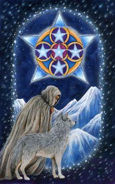 5 d'écus - The Star Tarot par Cathy McClelland