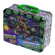 Teenage Mutant Ninja Turtles Puzzle in a Collectible Tin  #TMNT #Puzzles #Collectibles