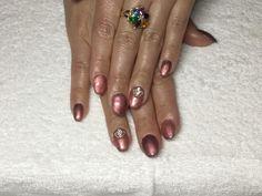 Nailart, Gel Manicure, Short Nails, Beauty, Nail Hacks, Gel Manicures, Beauty Illustration