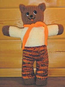 Knitted Care Bear
