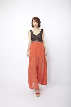 maxi skirt :) I wish I was tall enough for maxi skirts :))